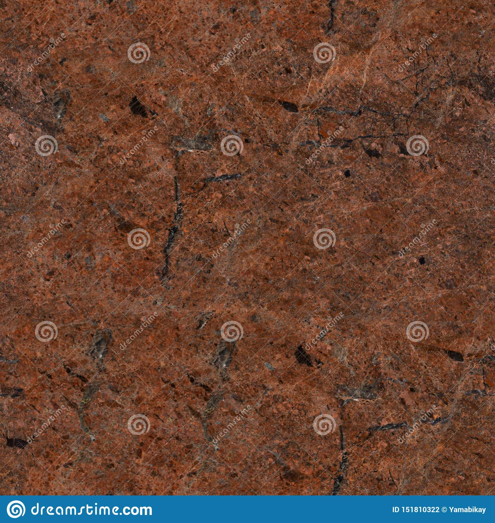 Contrast Brown Granite Texture With Dark Cracks Seamless Square Background Tile Ready Stock Photo Image Of Architecture Gray 151810322