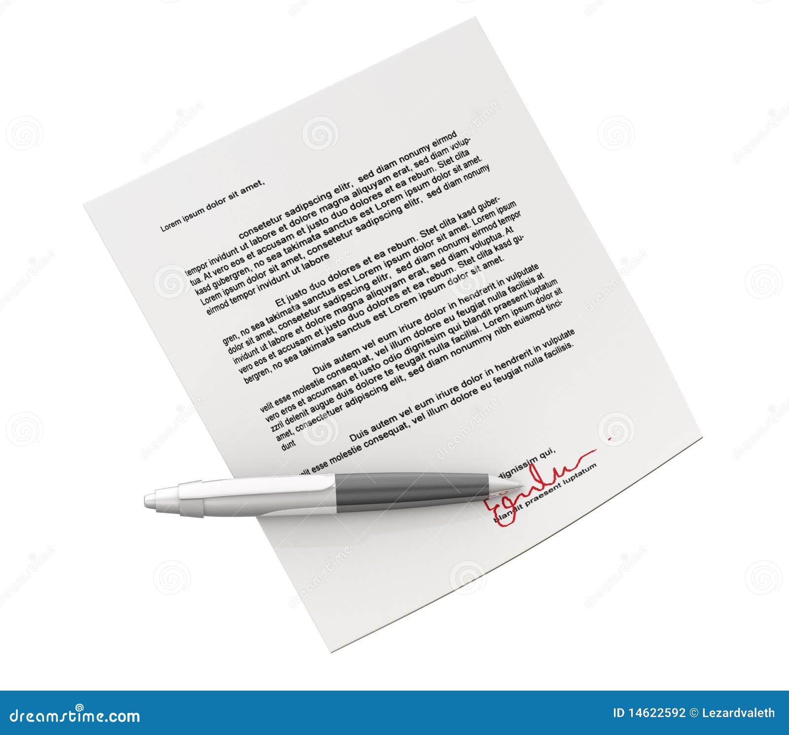 Contrat de Signin