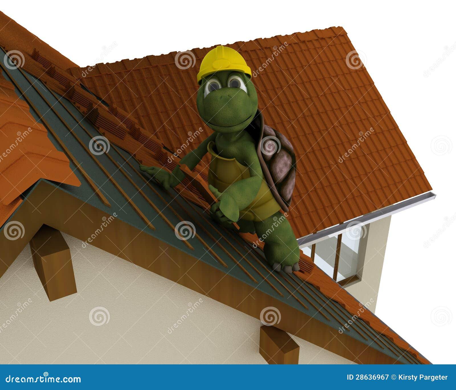 Contratante de telhado da tartaruga