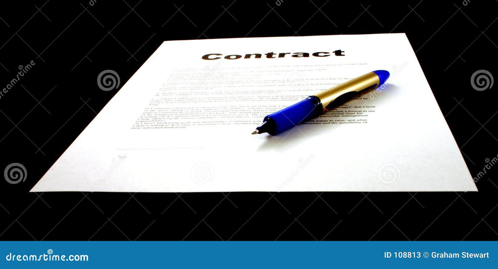 Contrato & pena