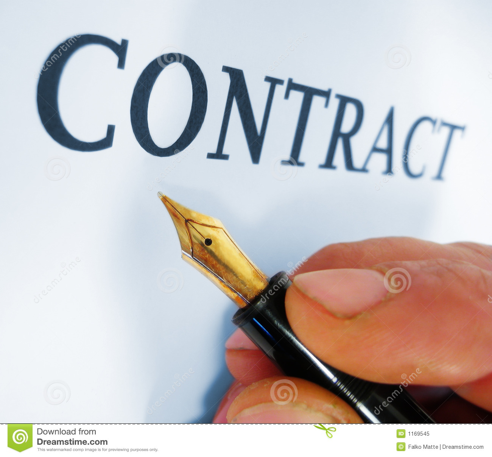 Contrato de la escritura