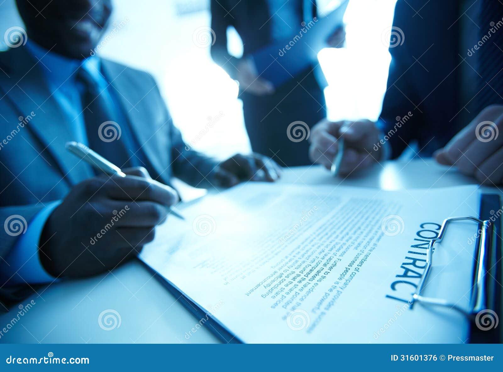Contratto di firma