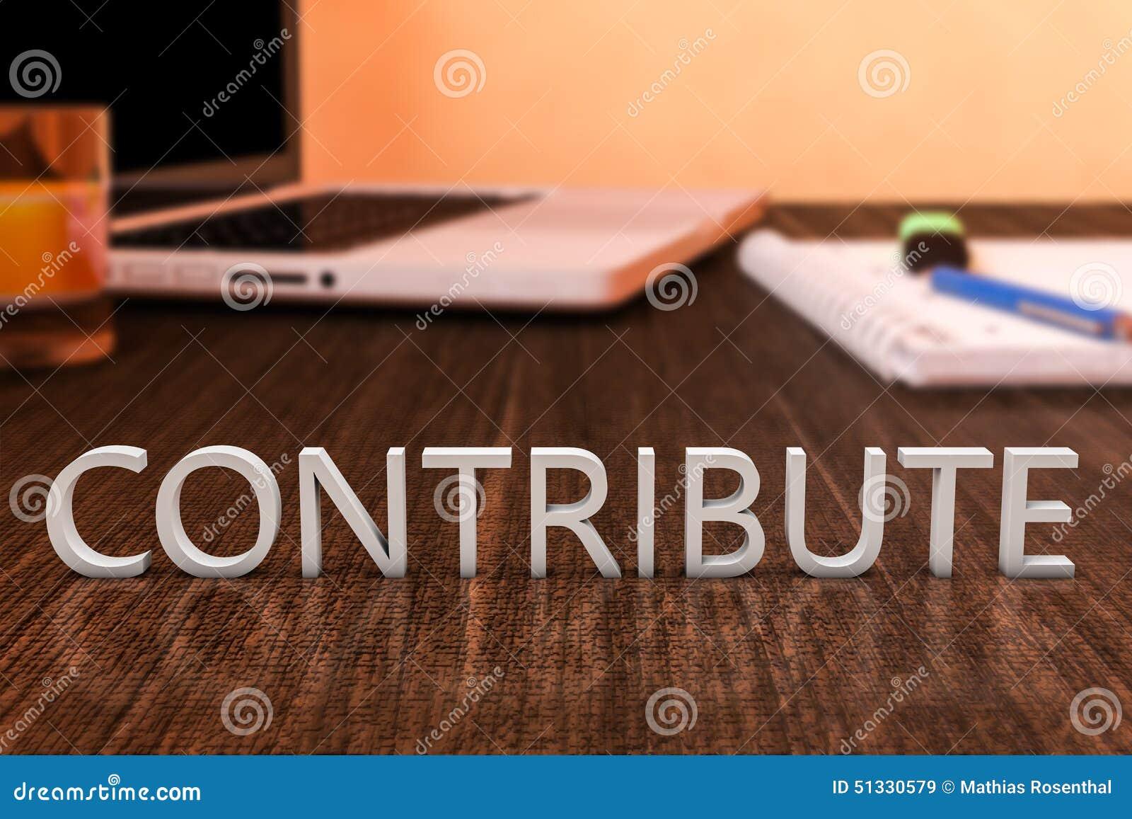 Contribuez