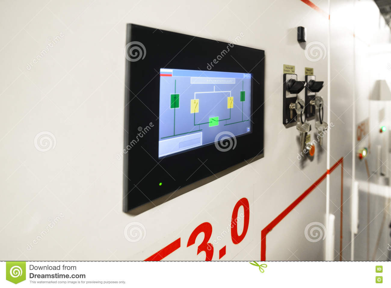 Electric Switchboard Stock Images Download 1065 Photos Free Photography Meter Messy Electrical Installation Control Display On The Modern