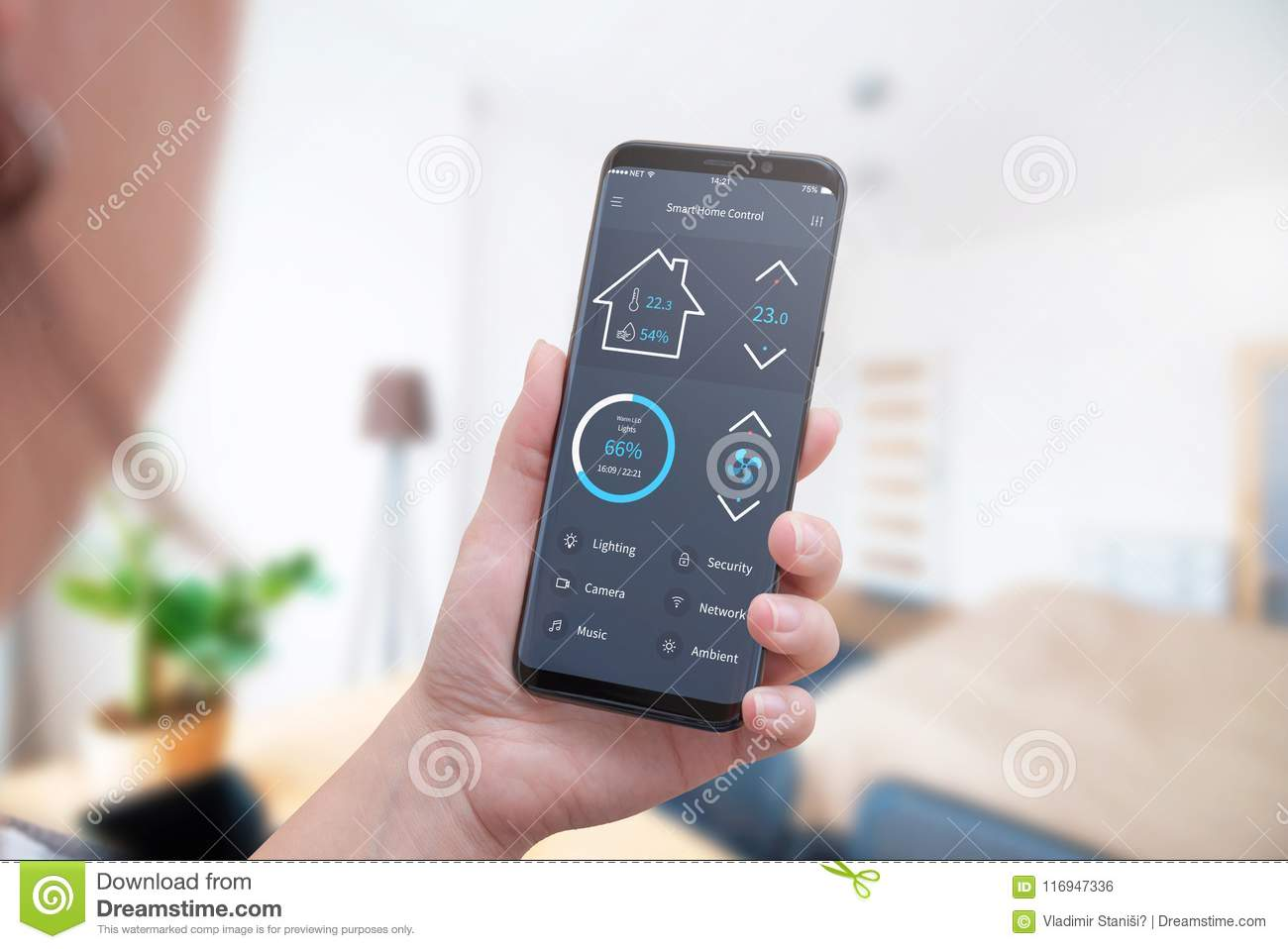 Control Home Temperature, Light, Security With Modern Mobile