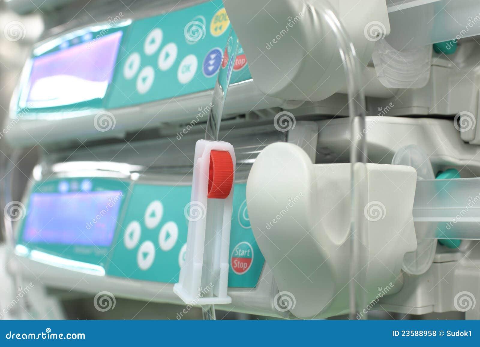 Controlador do sistema intravenoso