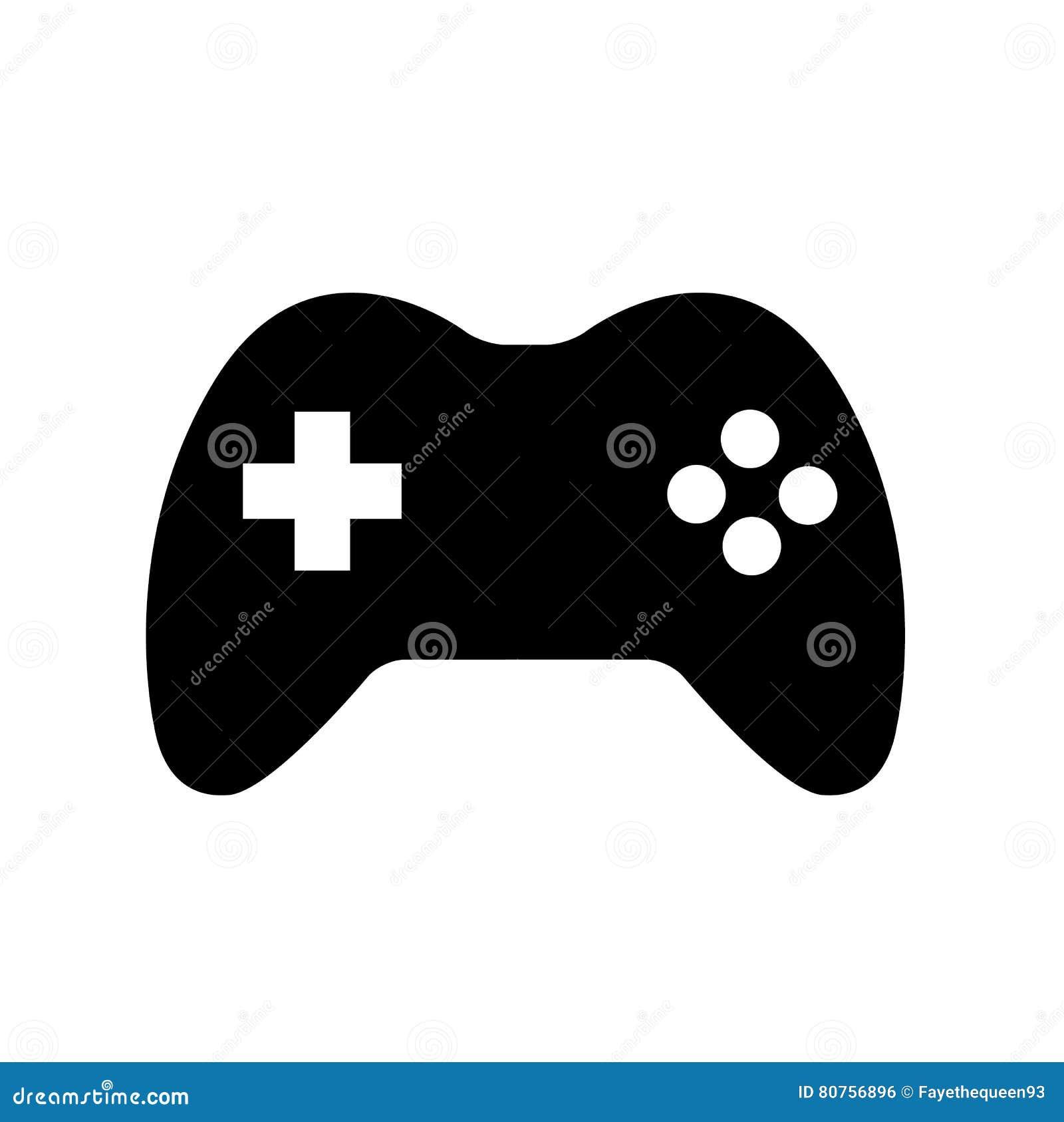 Controlador Icon Logo do jogo de Joypad do manche