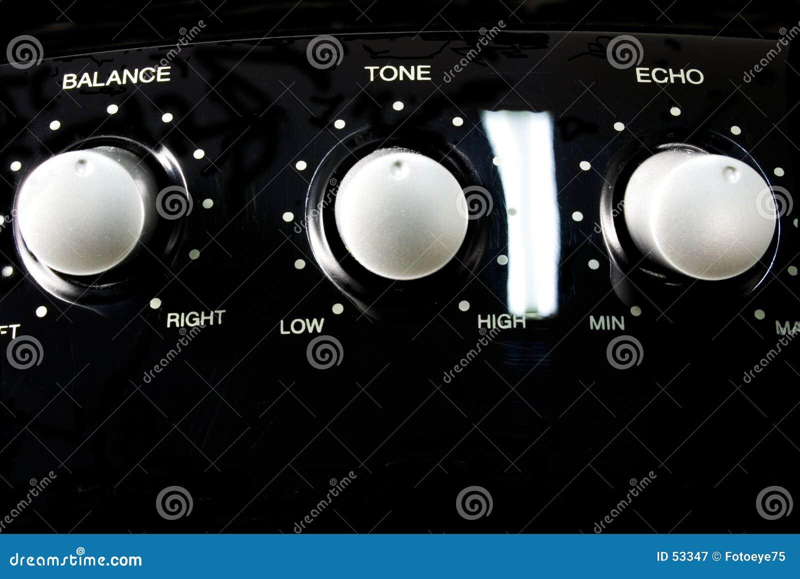 Controle audio