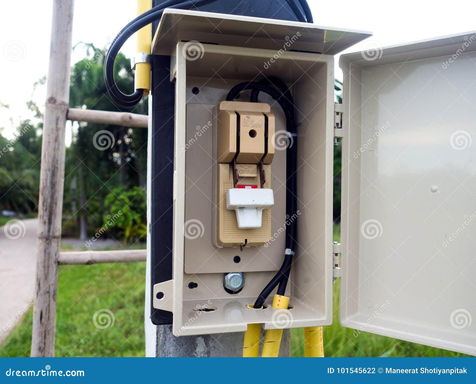 Controle bonde principal do interruptor em Tailândia