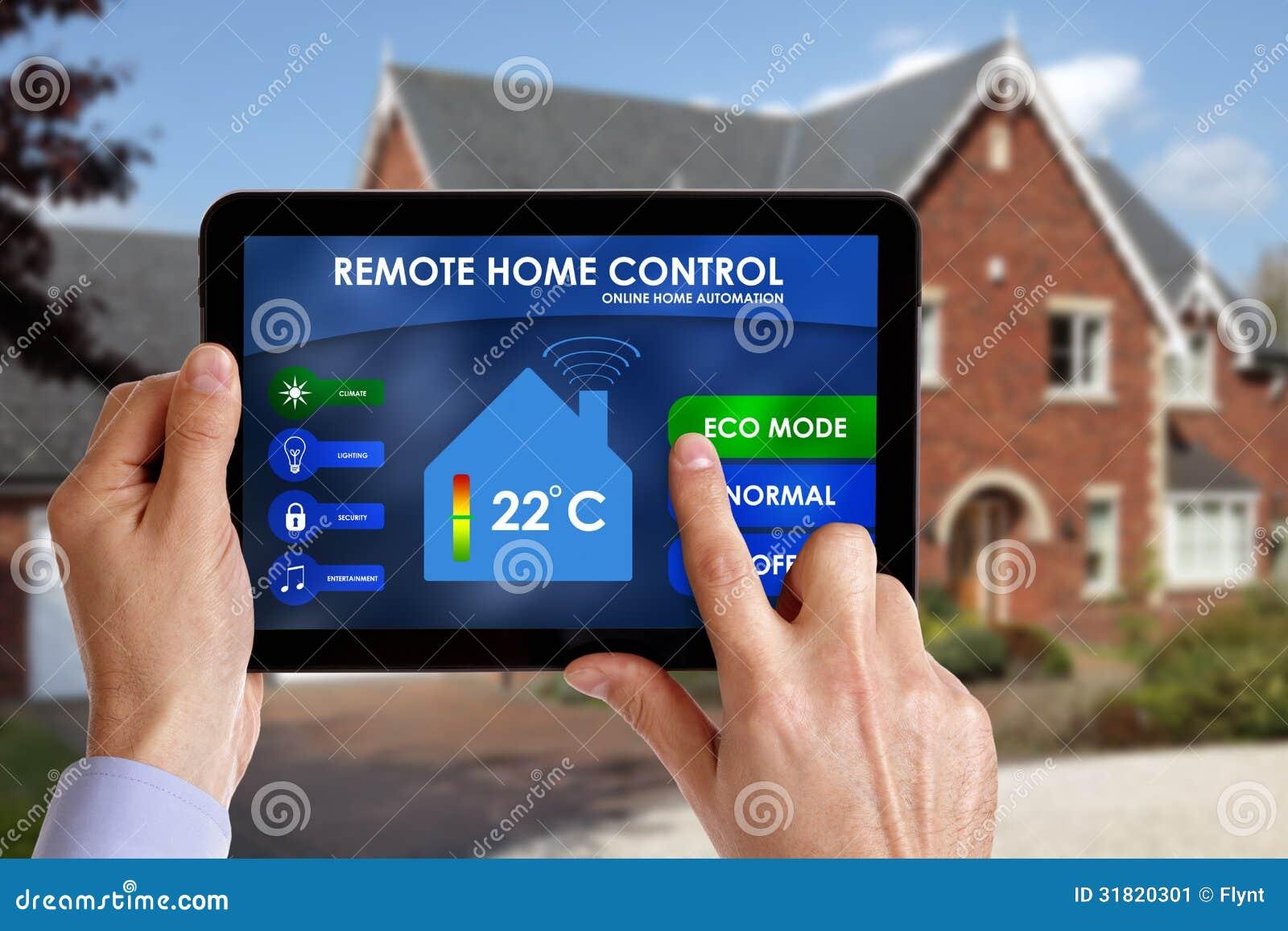 Controle home remoto