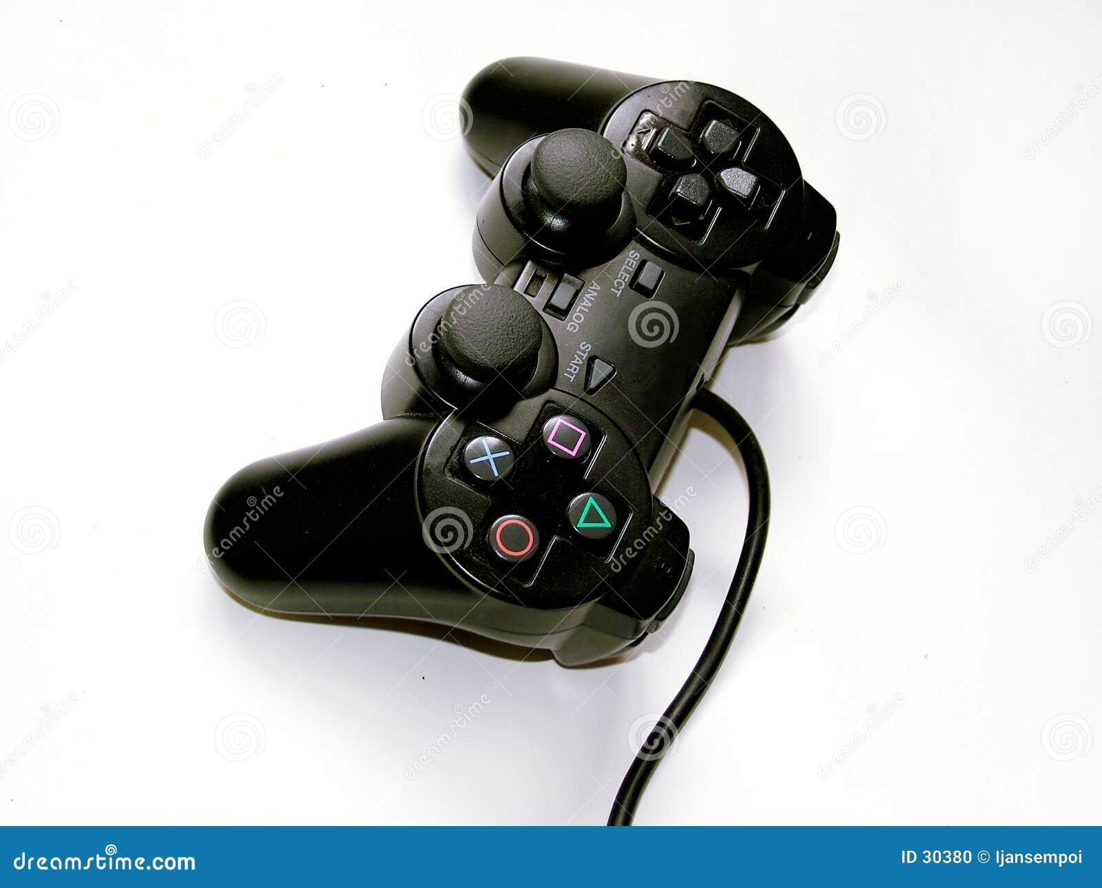 Download Controler del juego foto de archivo. Imagen de diversión - 30380