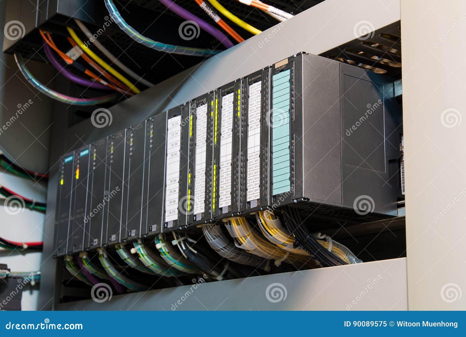 Controler programmable de logique de PLC, cette exposition Co de câblage dure de photo