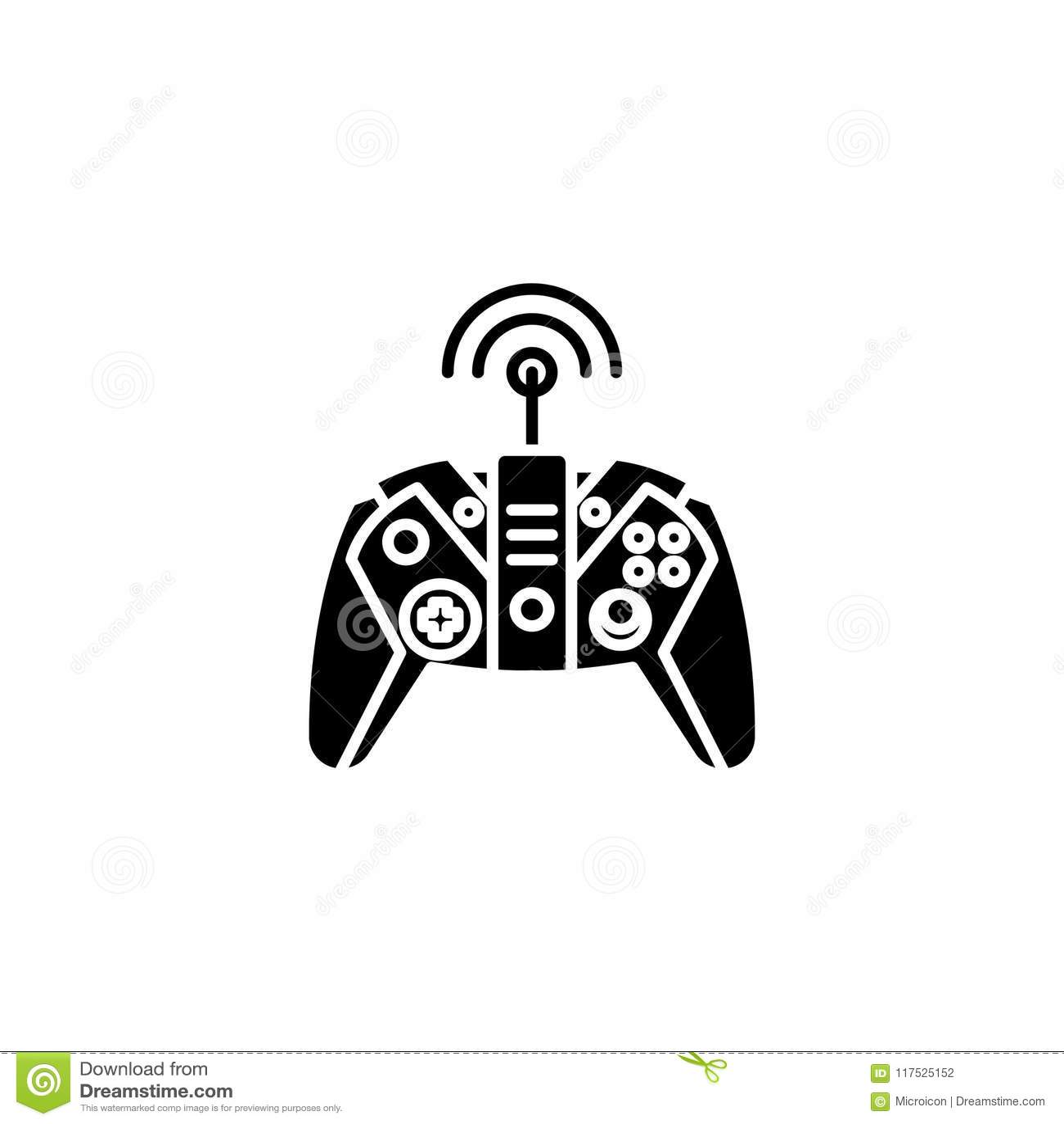 Controlerend gemiddeld zwart pictogramconcept Het controleren gemiddeld vlak vectorsymbool, teken, illustratie