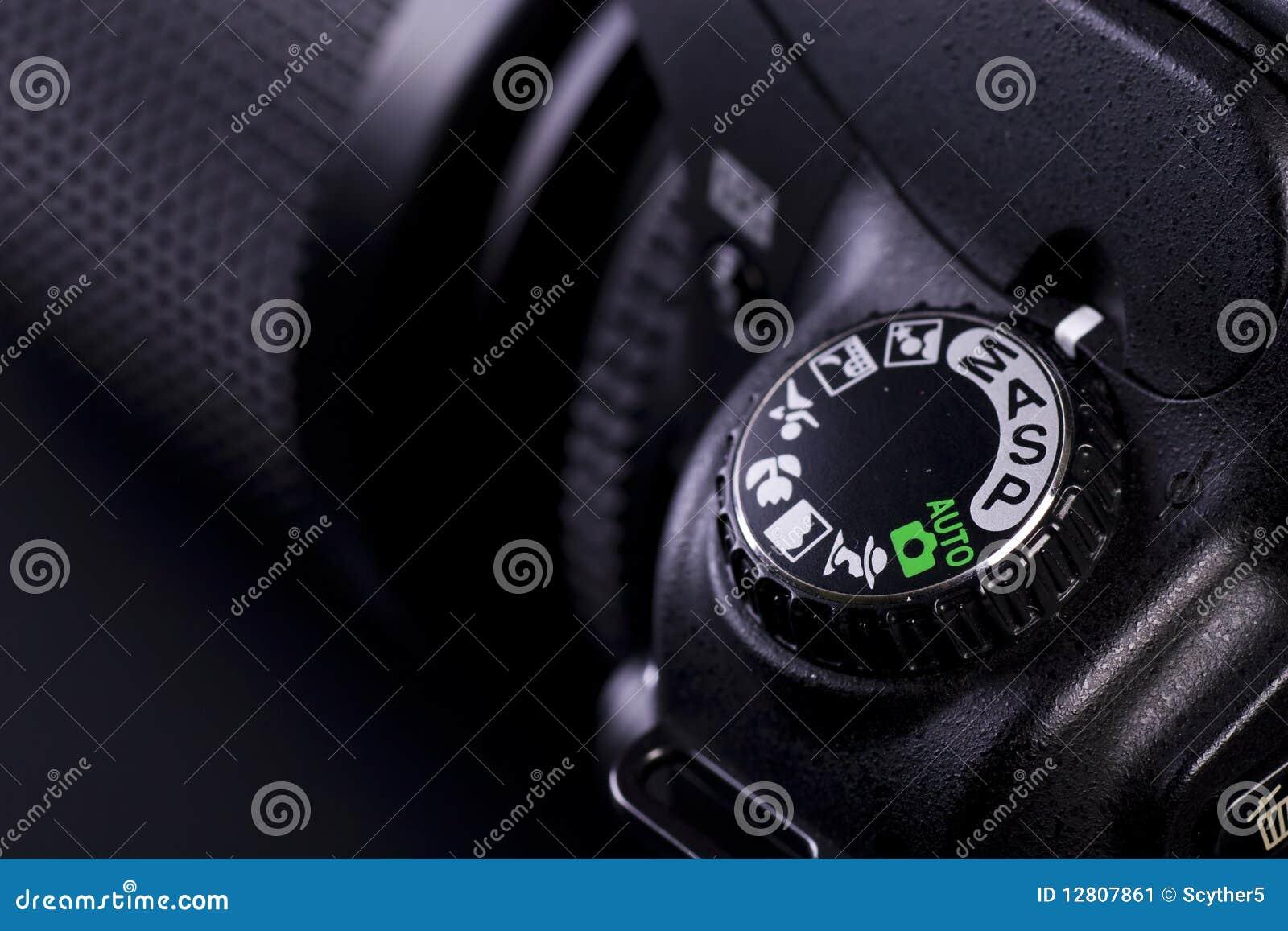 Controles de câmera
