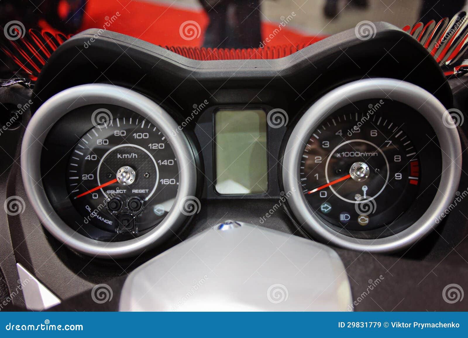 Motocicleta do painel
