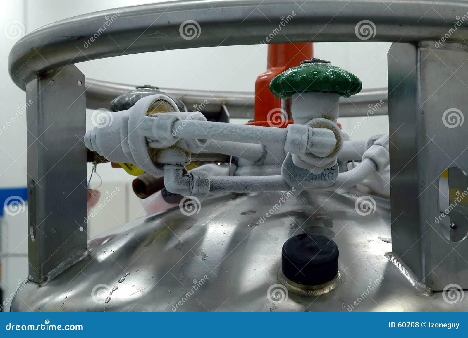 Controles do tanque