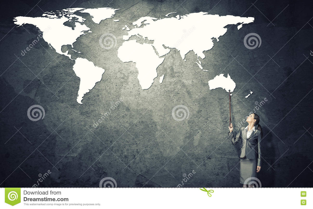 Controlling The Whole World Stock Image - Image of power ...