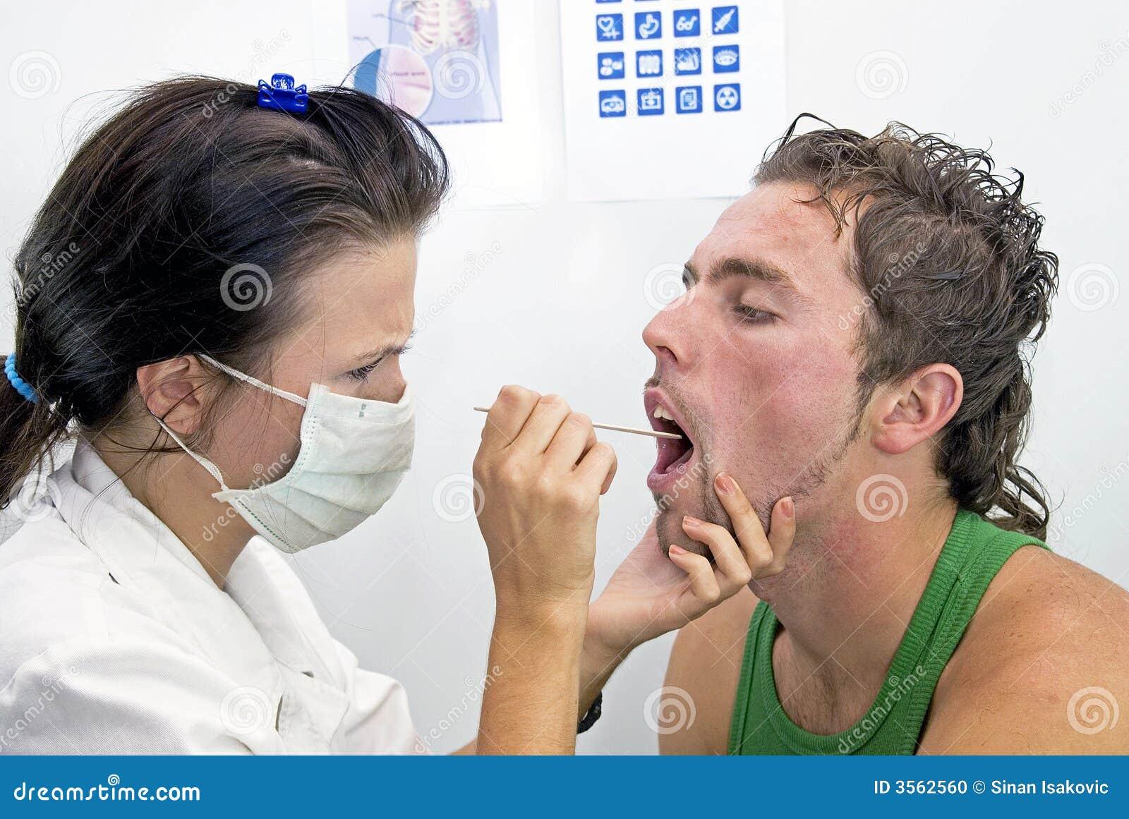 Controllo della gola