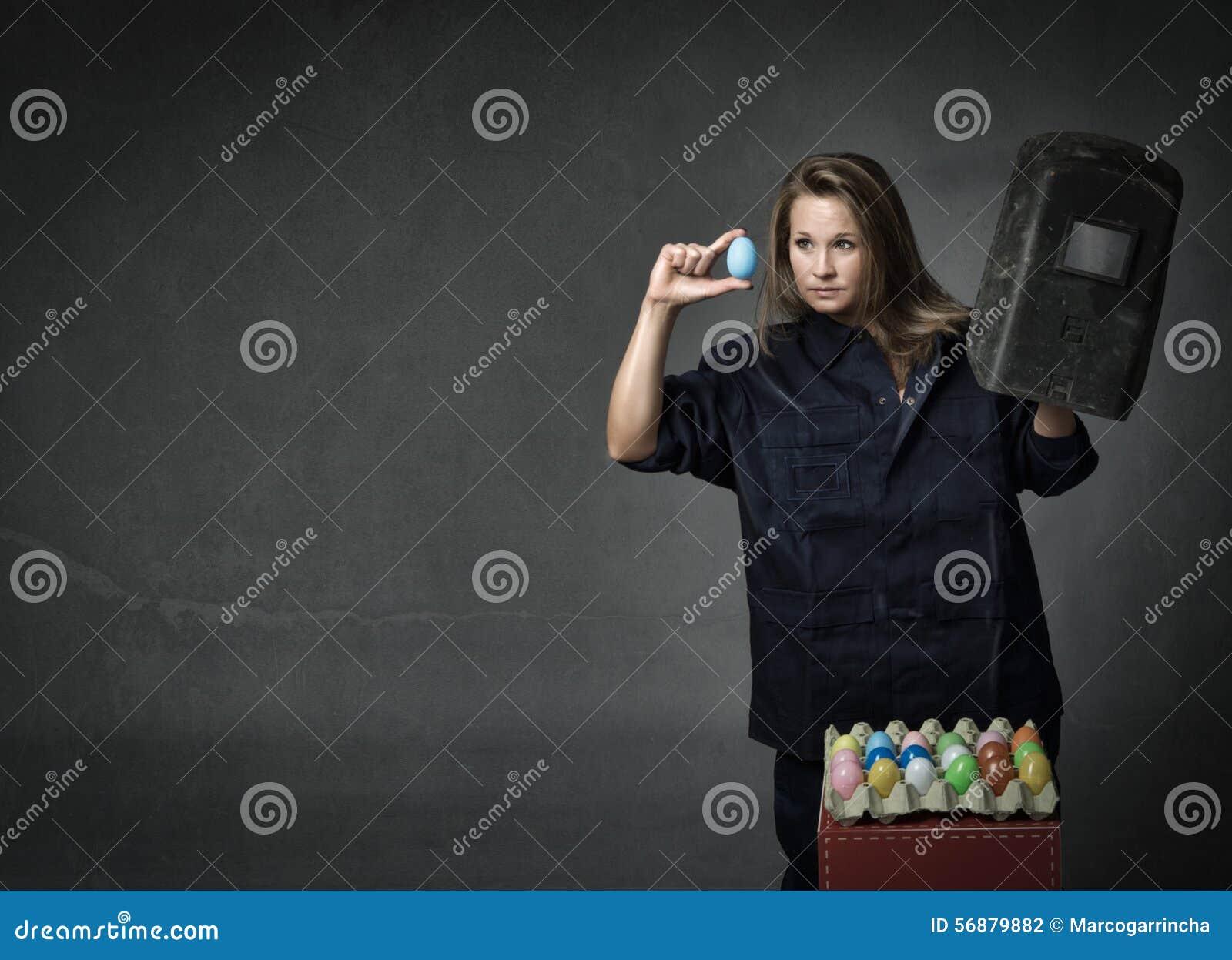 Controllo delle uova di Pasqua