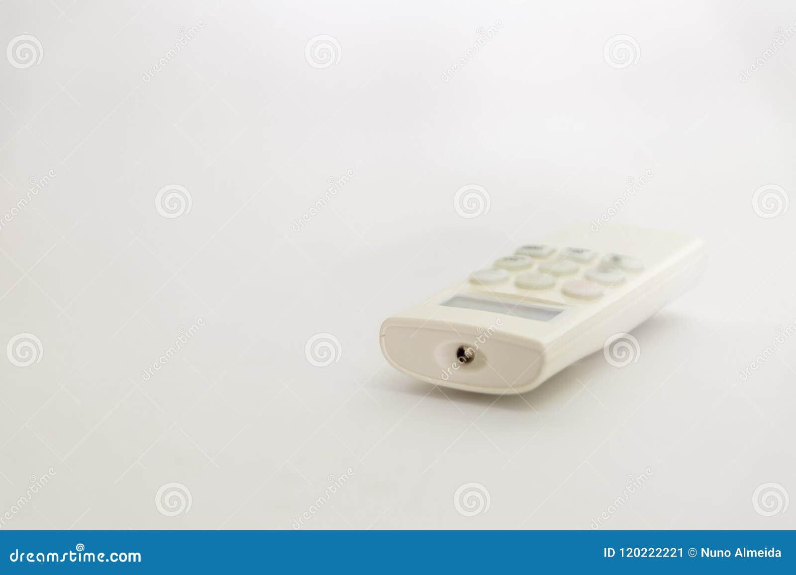 Controlo a distância branco do condicionador de ar