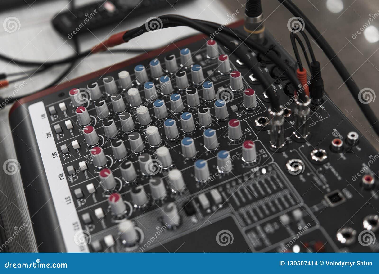 Controlo a distância do DJ Controlador audio do DJ Plataforma giratória eletrônica