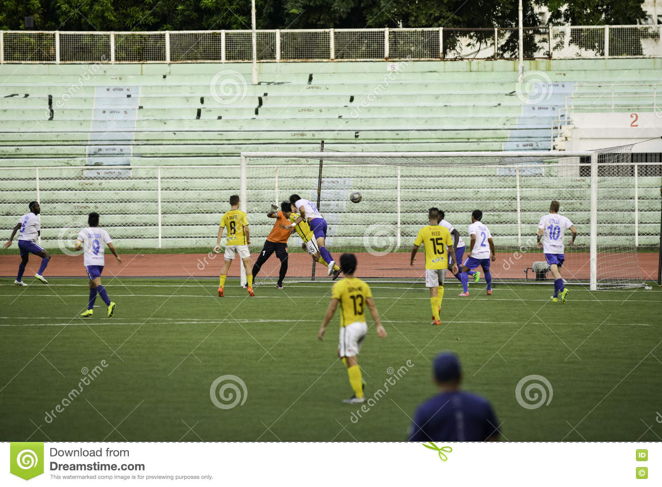Controversial Goal Kaya vs Stallions - Manila Football United League Philippines