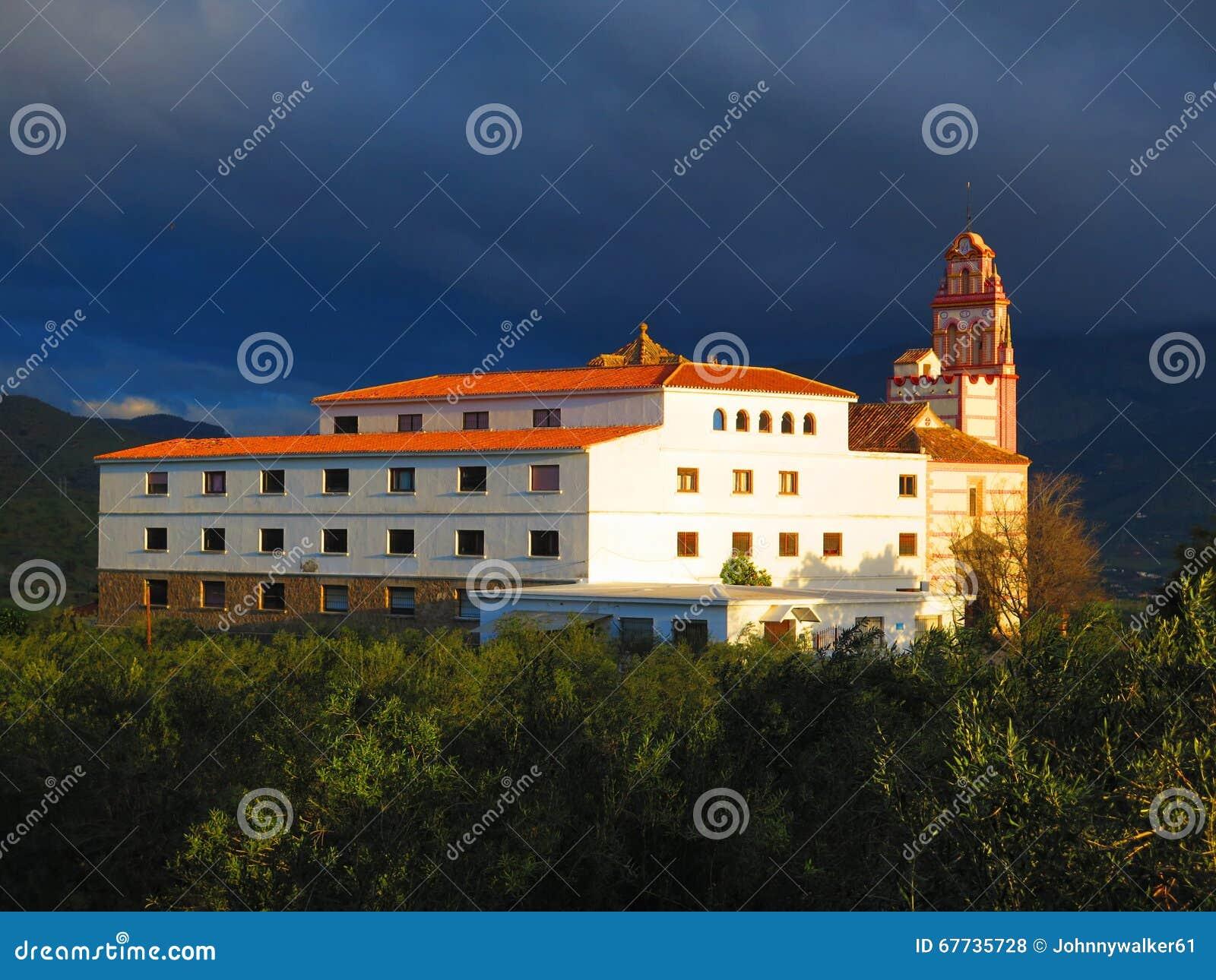 Convento del Flores, santo patrono di Alora