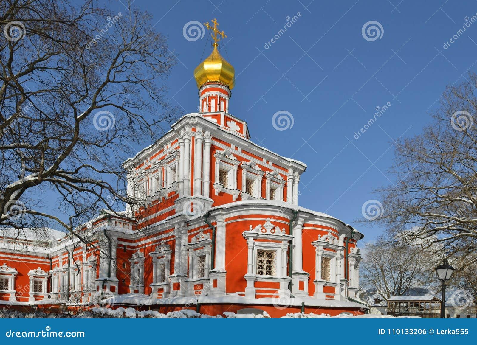 """Convento di Novodevichy anche conosciuto come Bogoroditse Smolensky Monastery a Mosca € 1685 della cattedrale di presupposto """"16"""