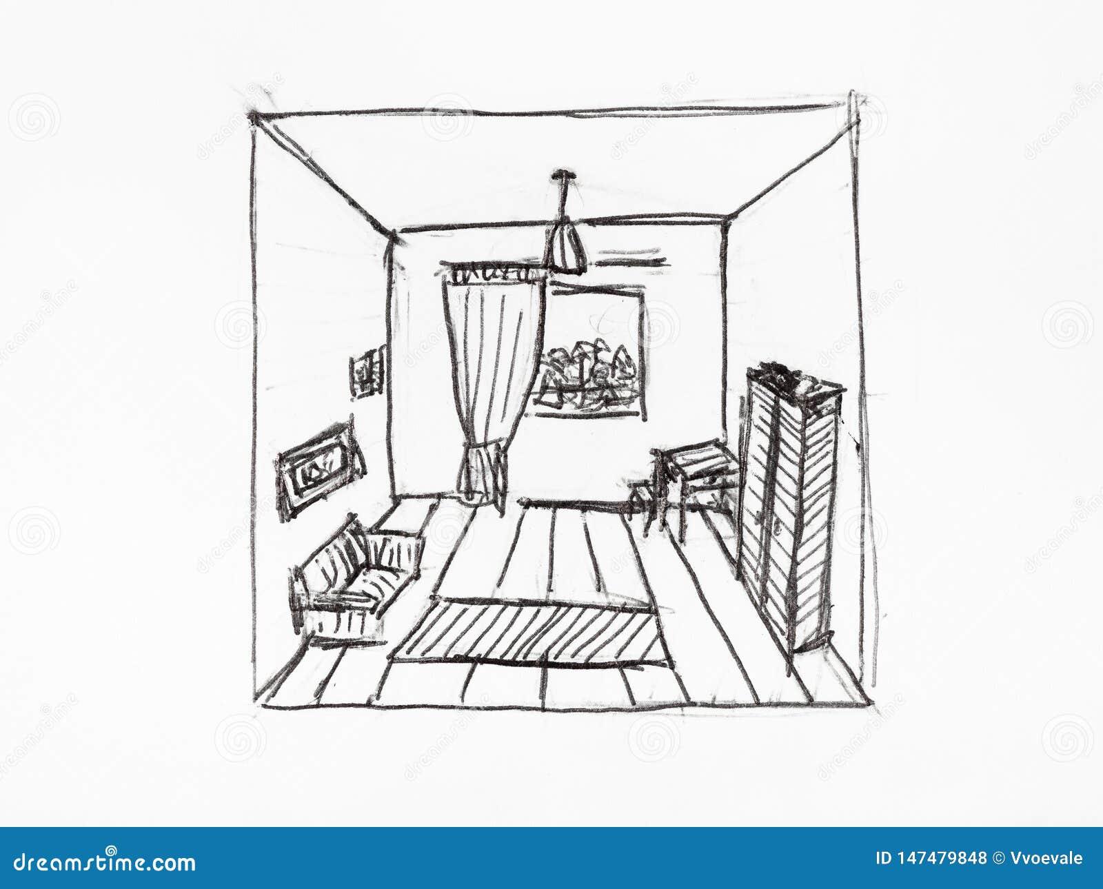 Convergence Des Lignes De Perspective En Appartement ...