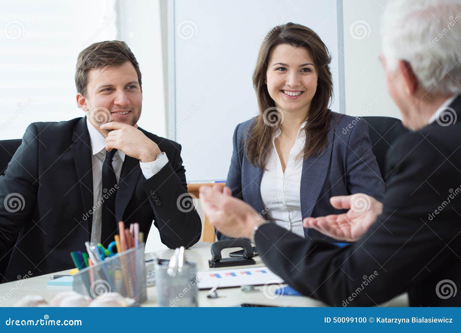 Conversação do negócio
