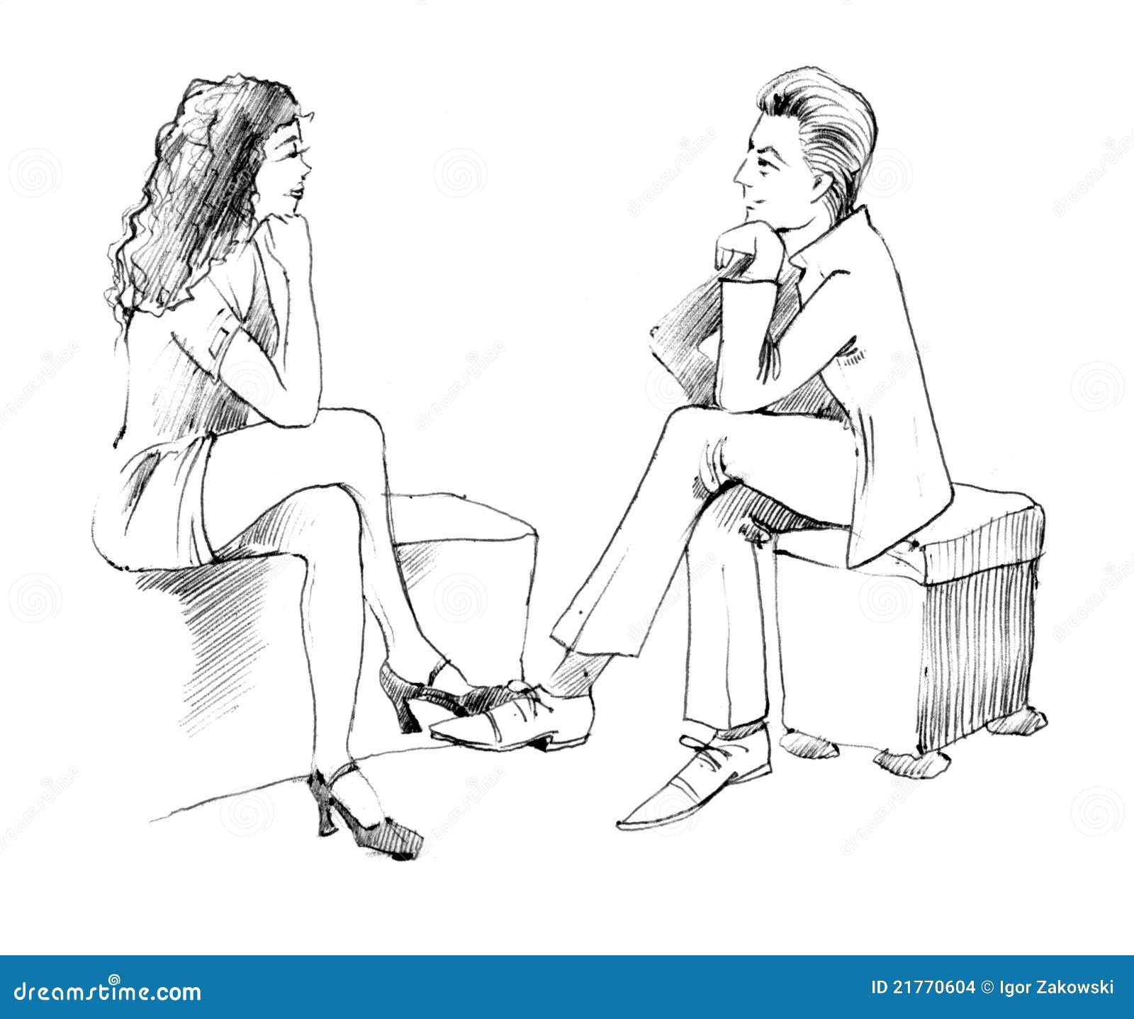 Conversação dos pares