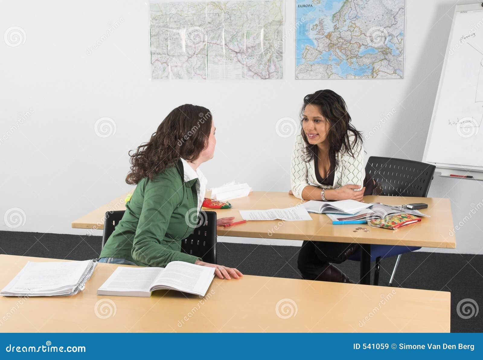 Conversa na classe