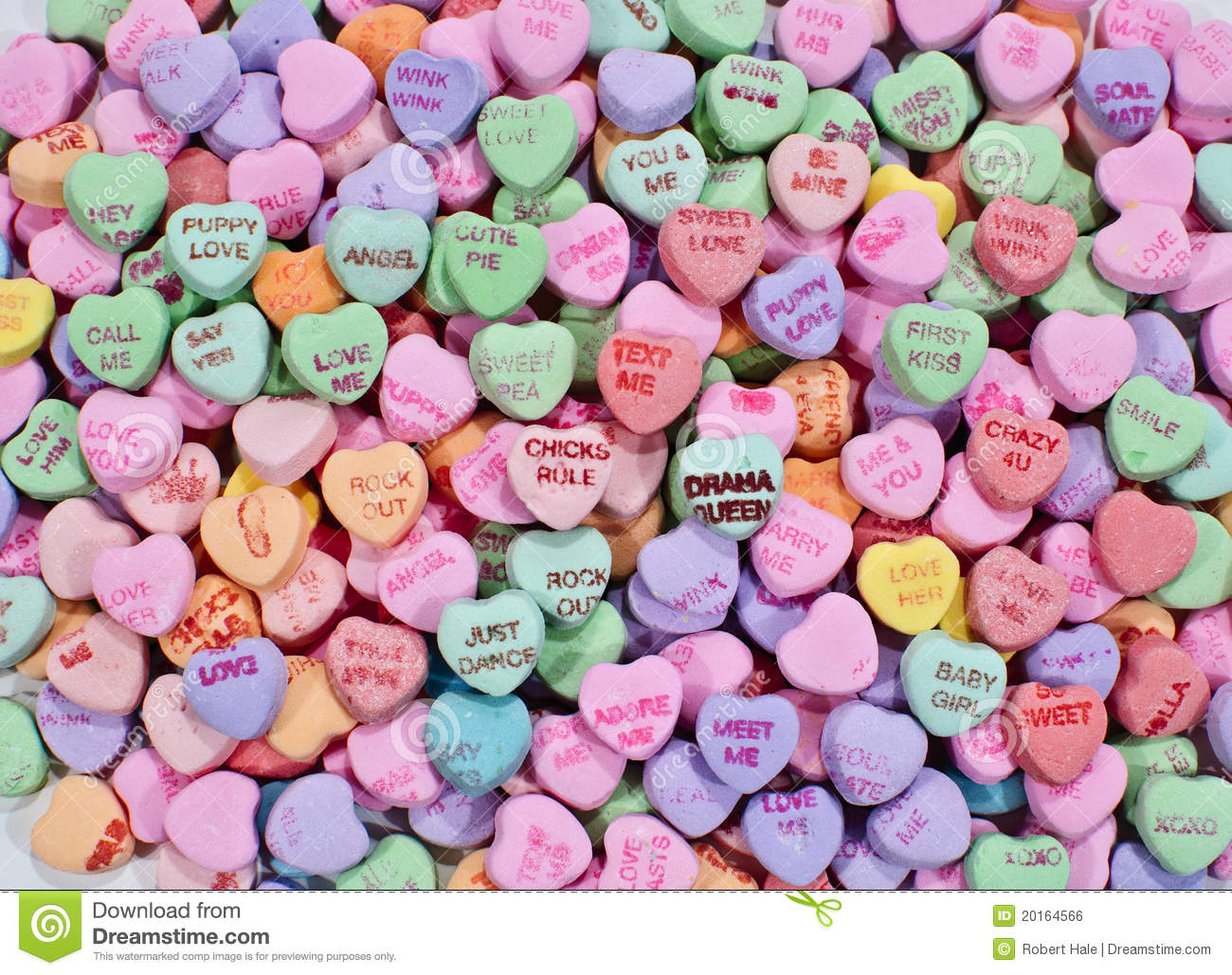 conversation candy hearts stock photo. image of candy - 20164566