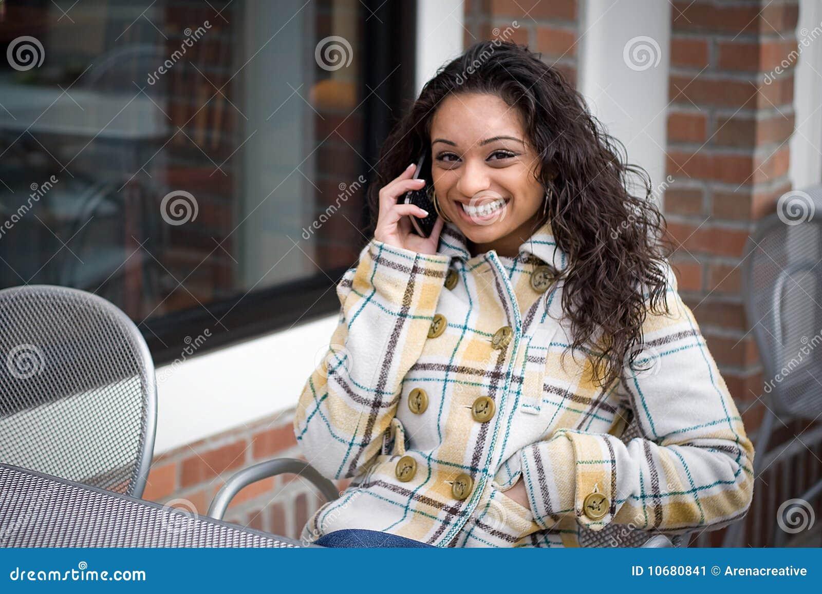 Conversation de téléphone portable