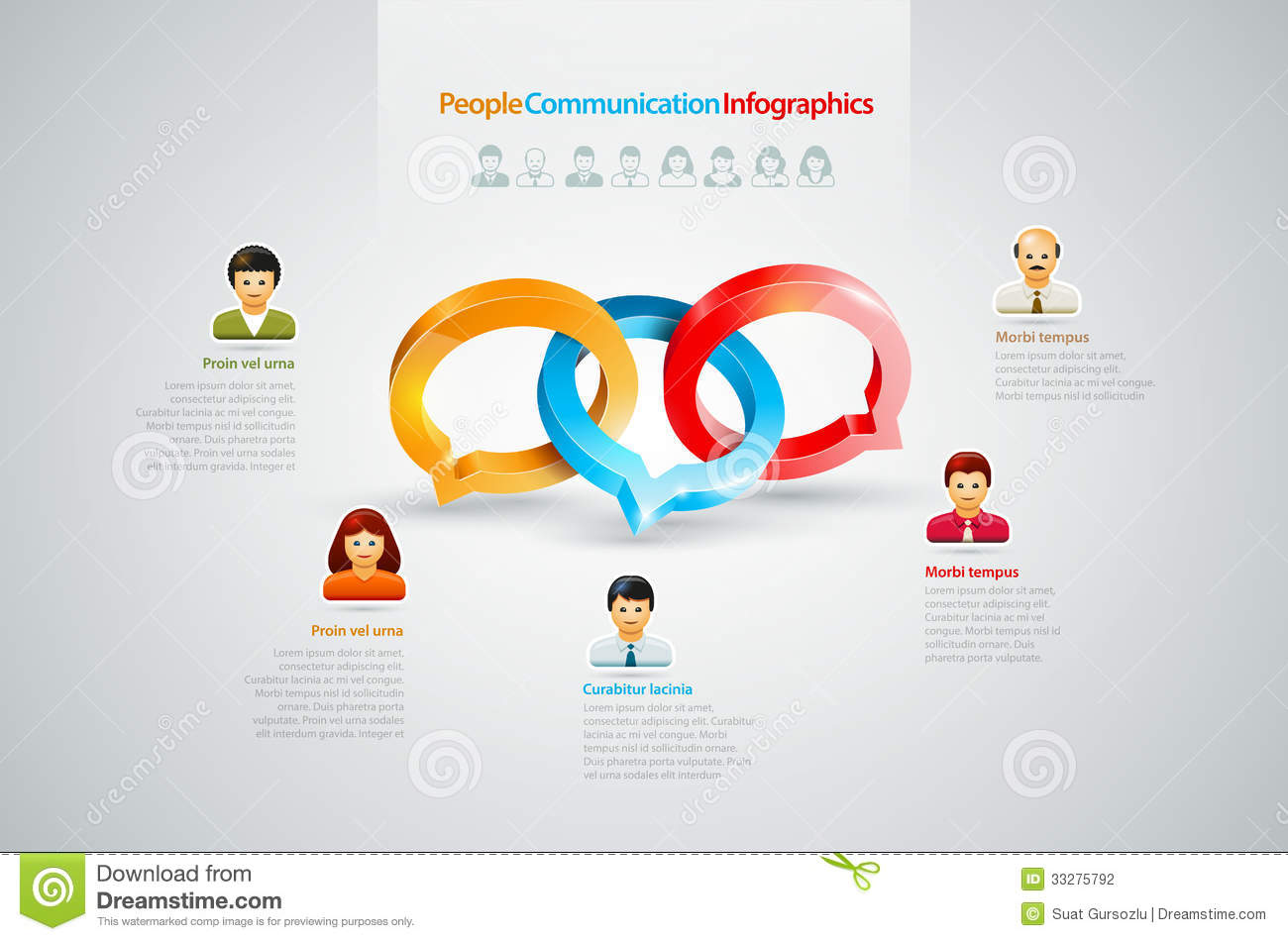 Infographics People Icon