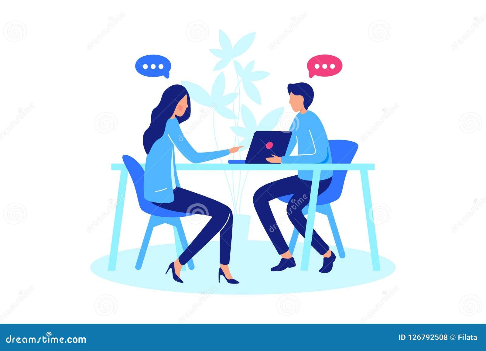 Conversazione fra per due persone