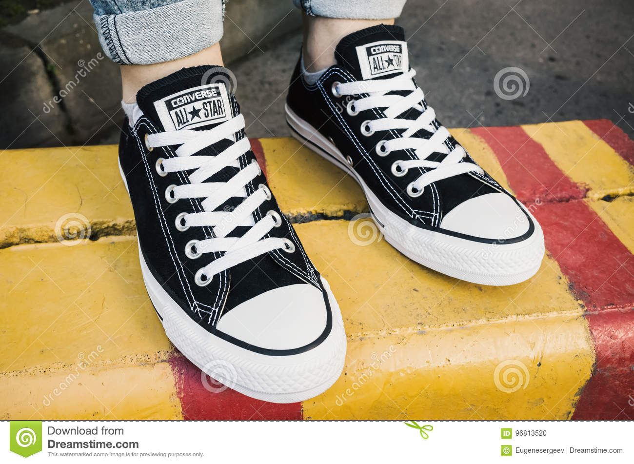 Converse All Stars shoes editorial image. Image of