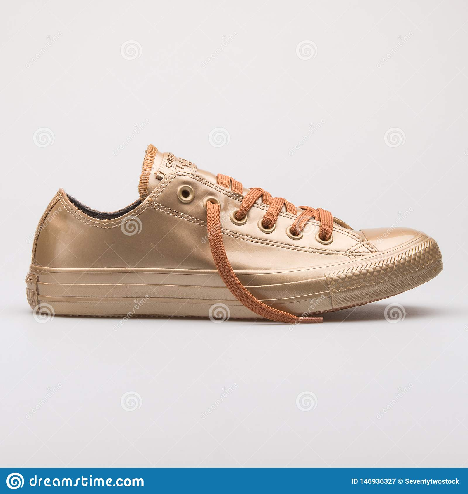 Converse Chuck Taylor All Star Metallic Rubber OX Blush Gold