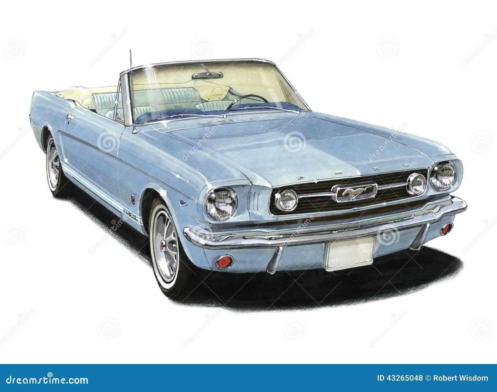 1966 Convertibel Mustang GT