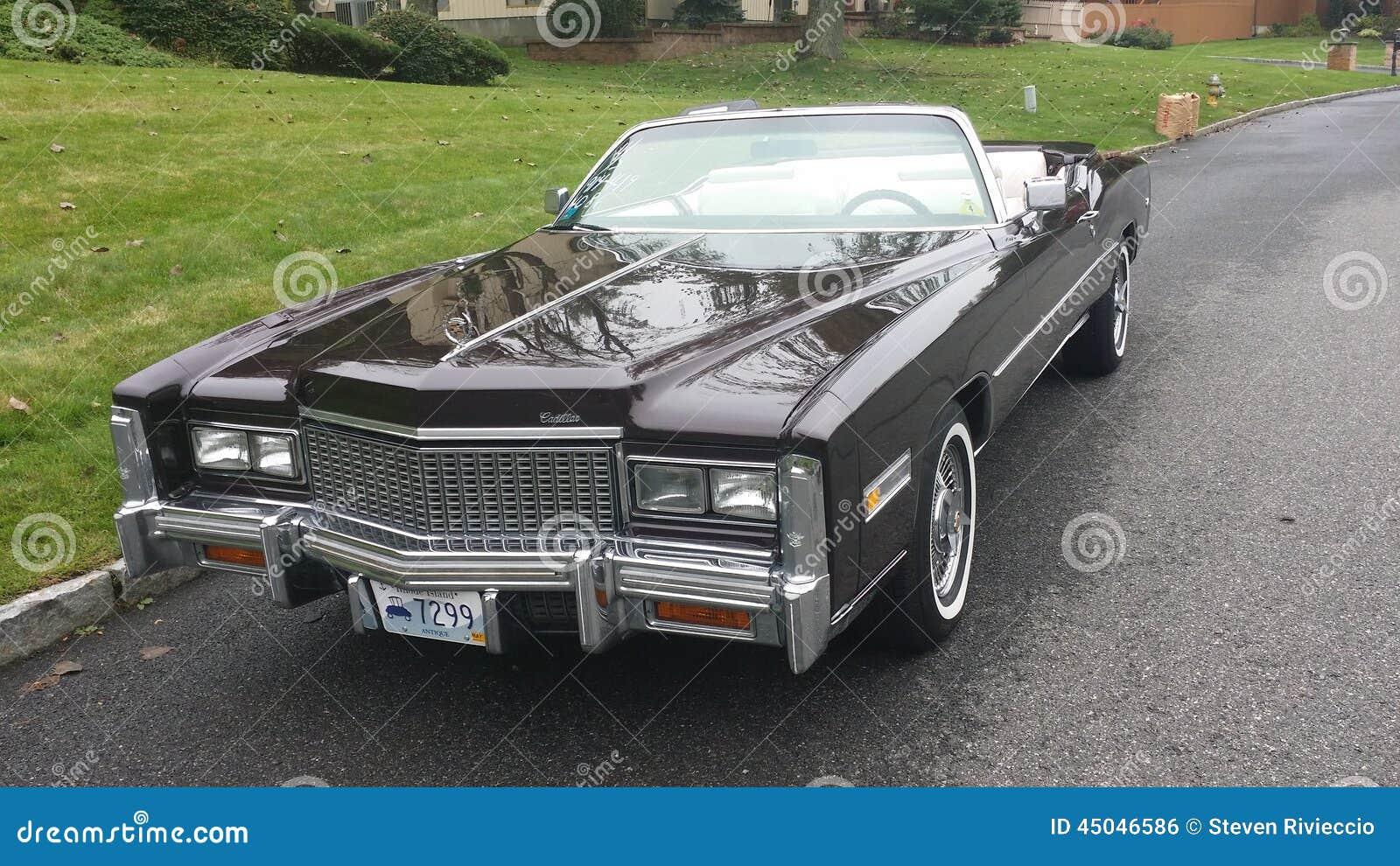 Cadillac Anni 70.Convertibile Di Cadillac Di Meta Degli Anni 70 Fotografia