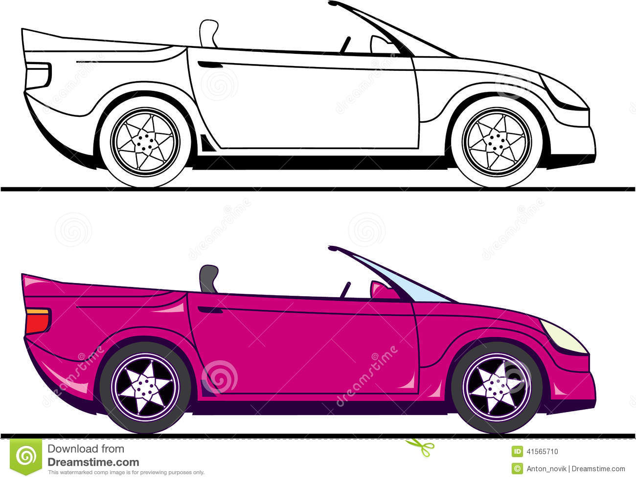 car clip art illustrations - photo #38
