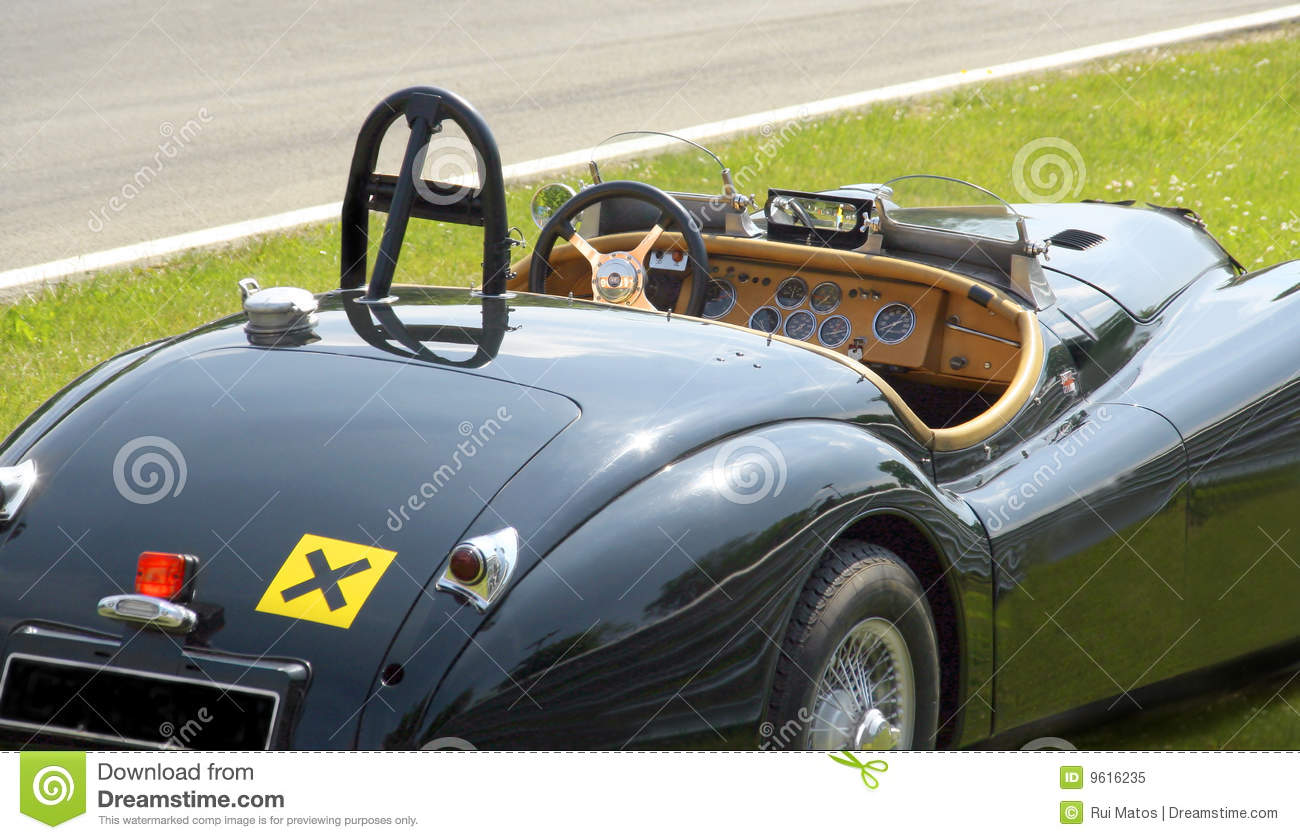 Convertible Classic Sports Car Royalty Free Stock Photo