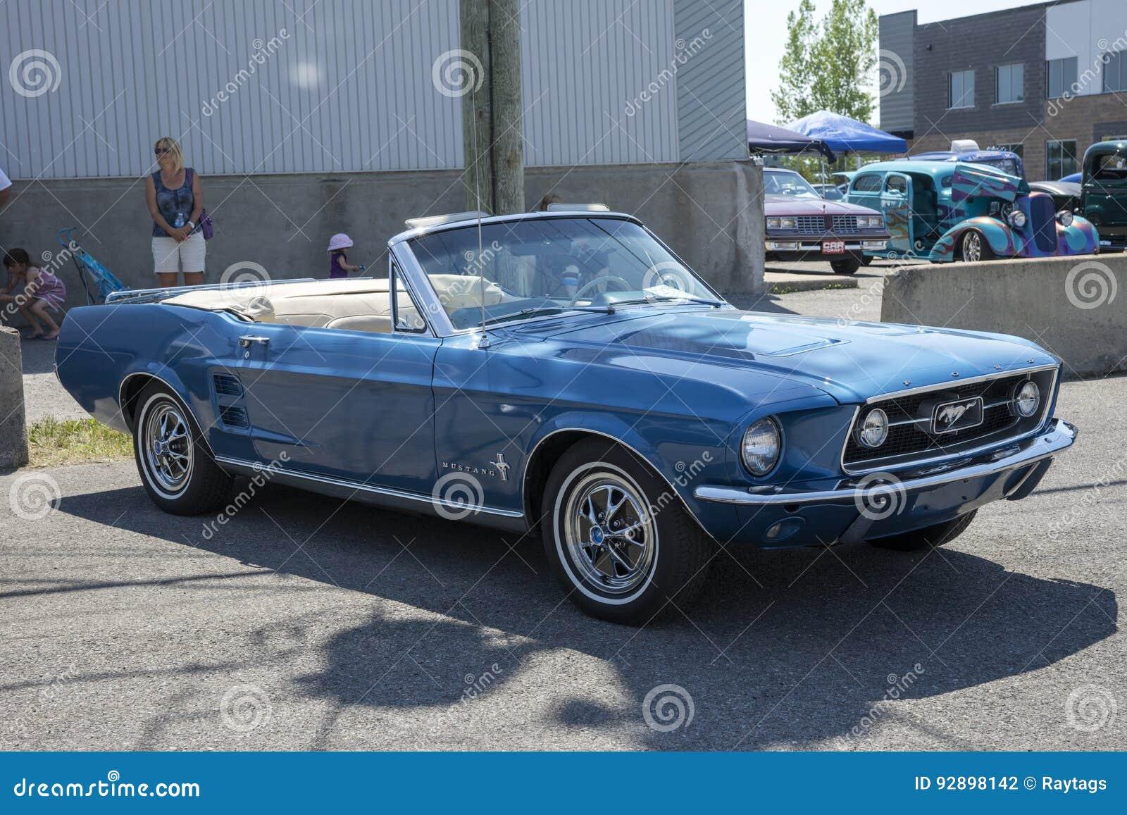 Convertible 1967 Do Mustang Fotografia Editorial Imagem De 1967 Convertible 92898142