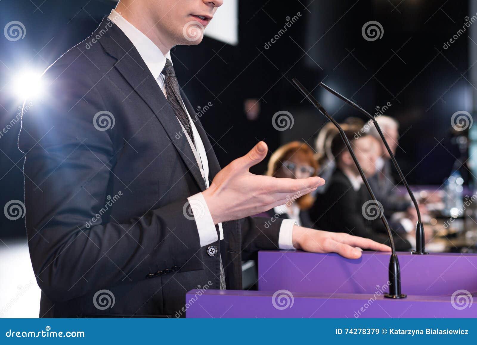 Convincing speech