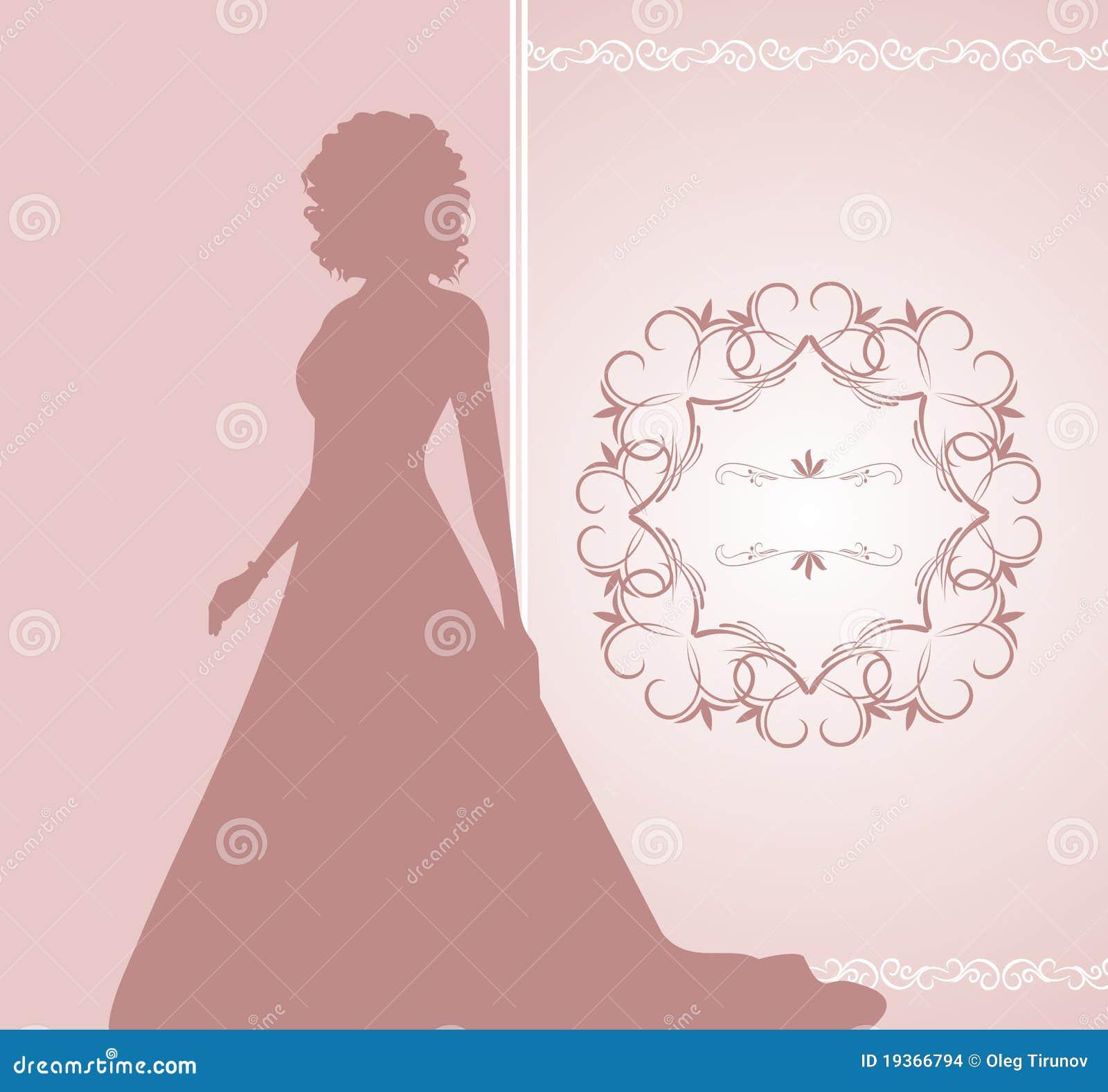 Convite ou cartão do casamento