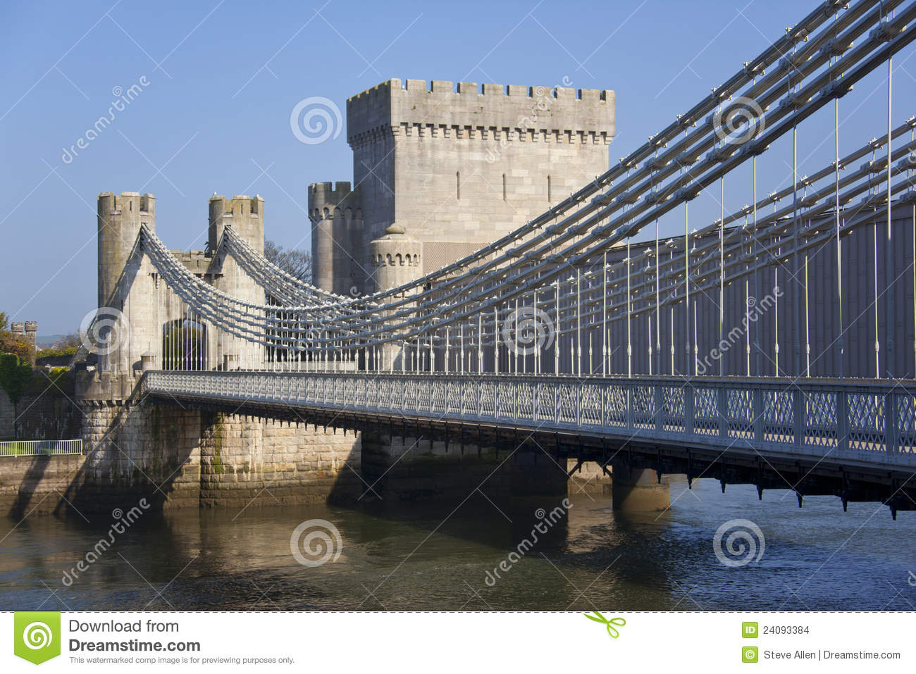Conwy United Kingdom  City new picture : Conwy Castle Bridge Conwy Wales Stock Images Image: 24093384