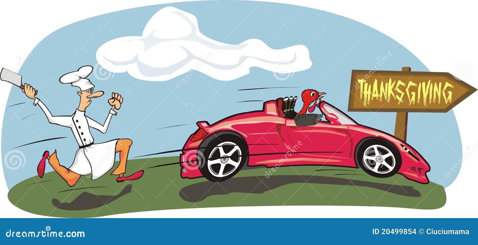 Race Car Thanksgiving