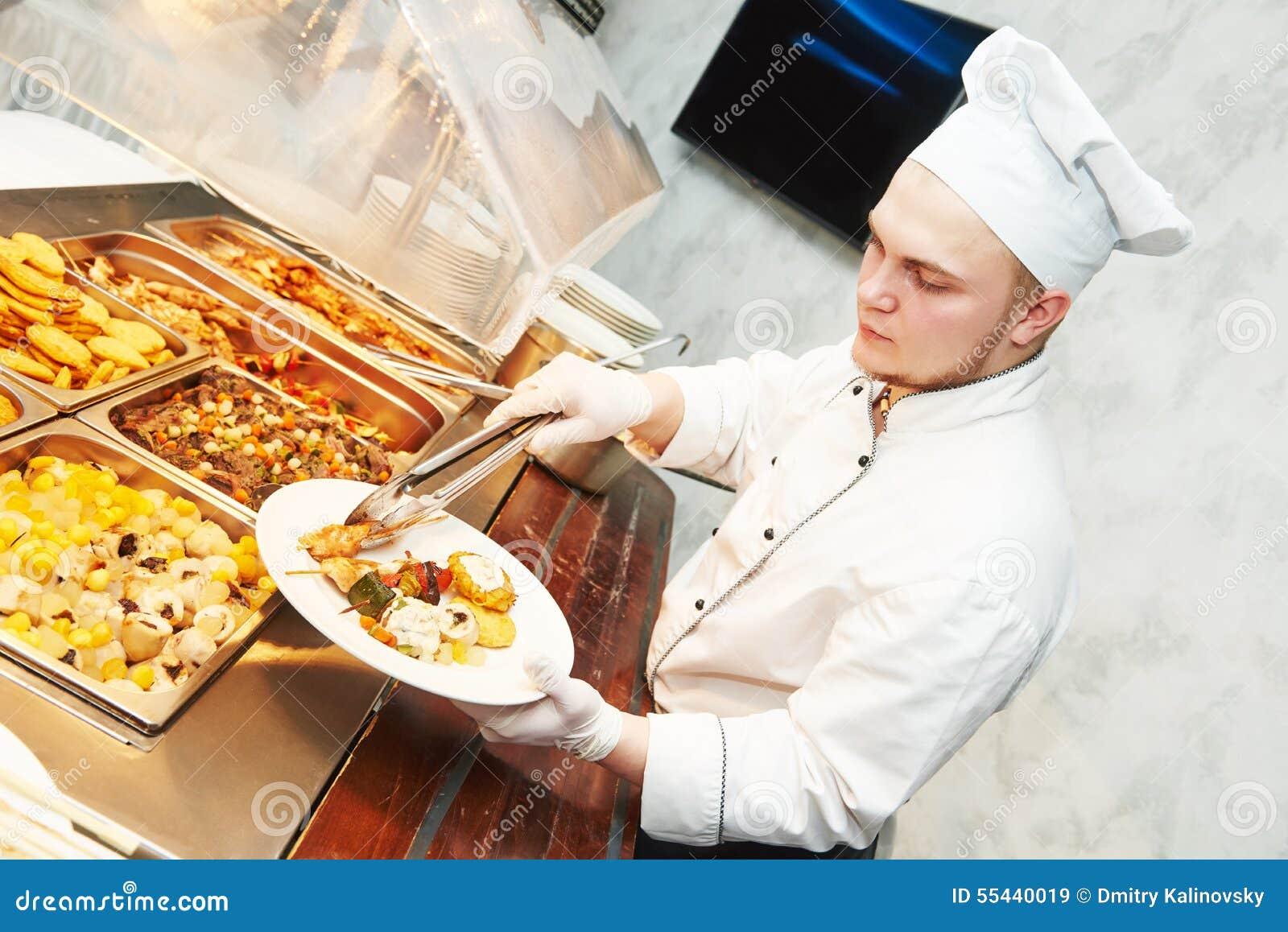 Serving At A Soup Kitchen