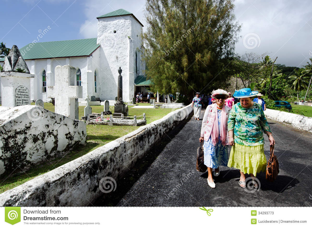 Download Cook Islands People Pray At CICC Church Editorial Stock Photo - Image of commonwealth, holy: 34293773