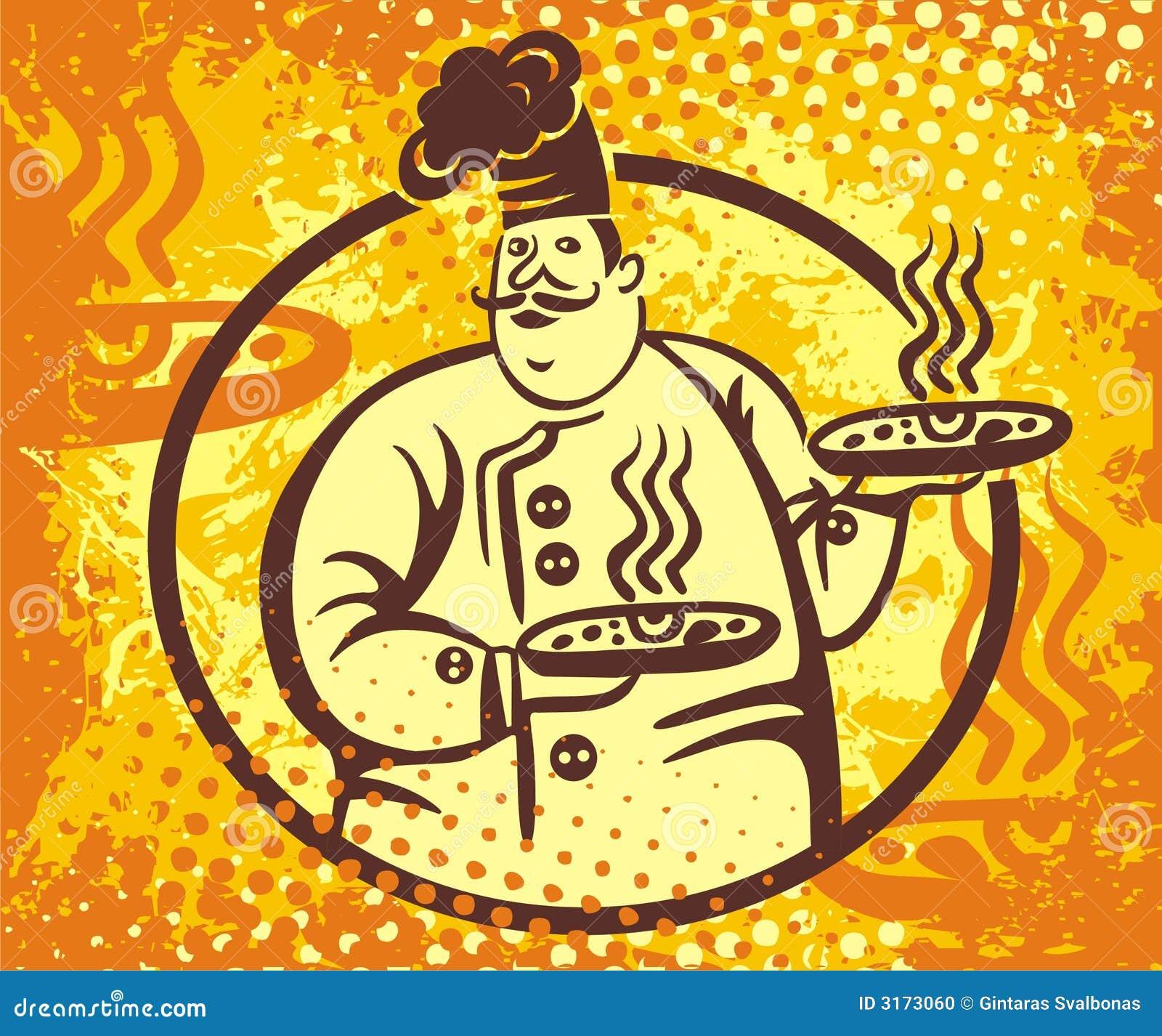 Cook logo wektora